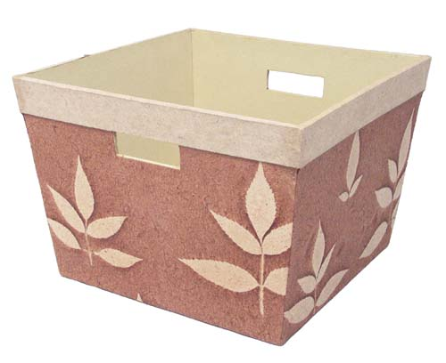 storage box made from recycled paper