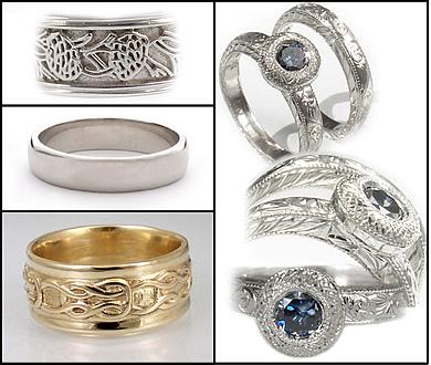 recycled wedding jewelry