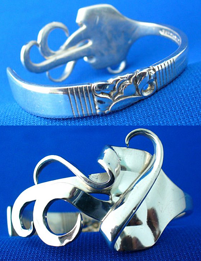 recycled flatware jewelry